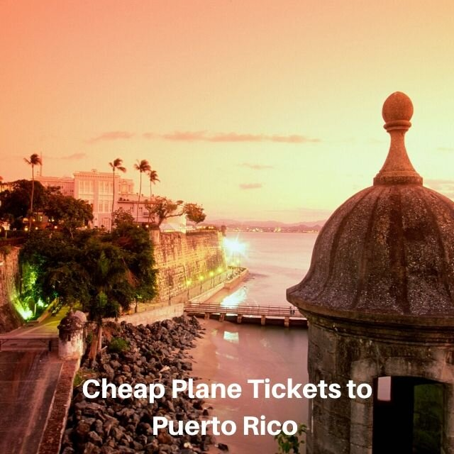 Cheap Airfare Tickets to Puerto Rico Flights Deal