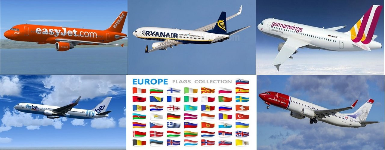 Cheap Flights Europe by Cheap Airline Booking