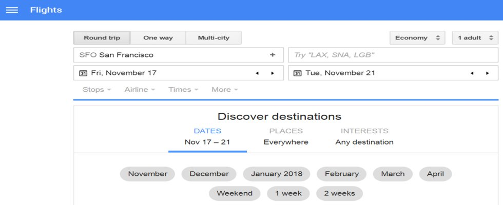 Google Flight Search Book Cheap Flights