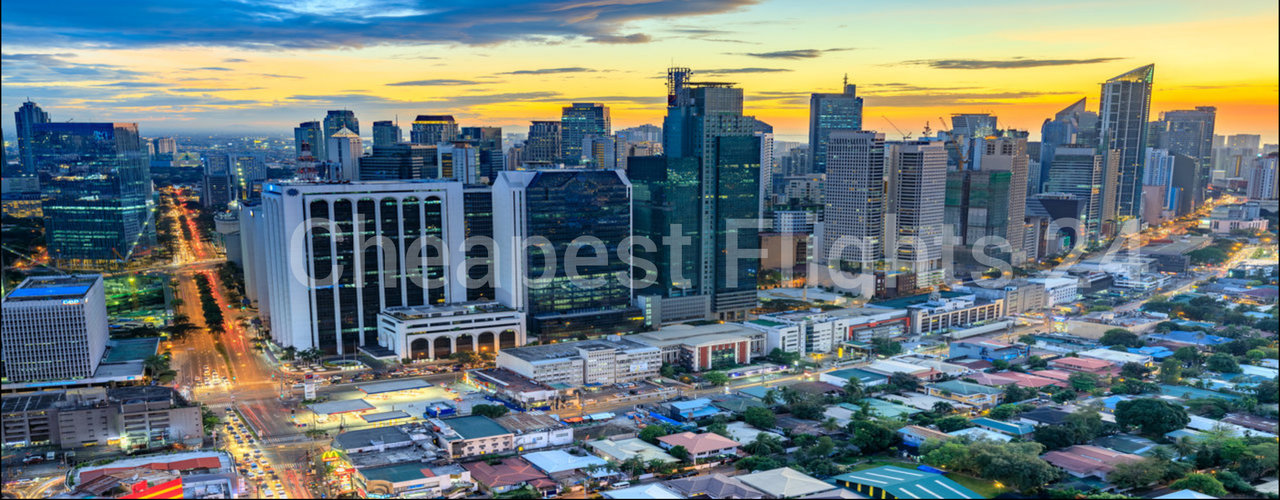 cheap flights to manila
